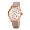 Style Bonding Big Case Leather Watch