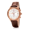 Big Moments Big Case Leather Watch