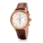 Big Moments Big Case Leather Watch-