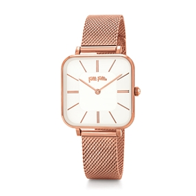Timeless Bonds Medium Square Case Bracelet Watch-
