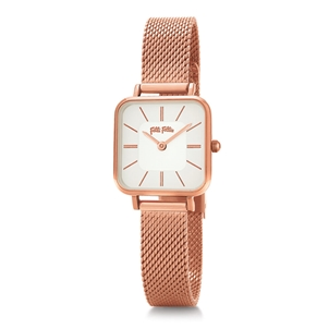 Timeless Bonds Small Square Case Bracelet Watch -