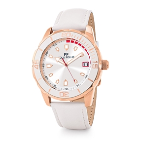 Lifetime Ora Extra Big Case Strap Watch-