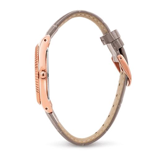 Chronos Tales Big Case Leather Watch-