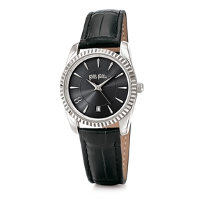 Chronos Tales Small Case Leather Watch-