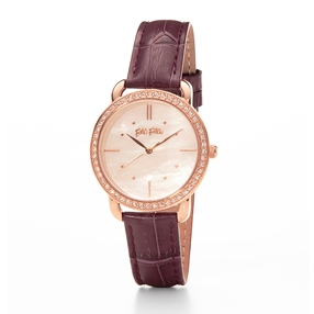 Daylight Medium Case Leather Watch-