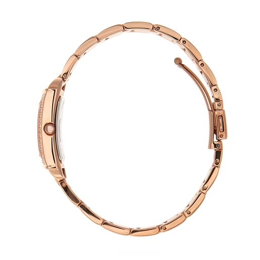 Heart4Heart Forever Oblong Case Bracelet Watch-