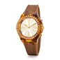 Rainbow Time Big Case Rubber Watch-