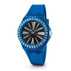 Rainbow Time Big Case Rubber Watch