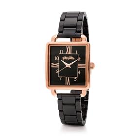 Retro Time Small Case Ceramic Watch-