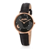 Stargaze Bright Medium Case Leather Watch