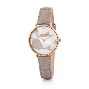 Stargaze Μεσαία Κάσα Δερμάτινο Ρολόι-