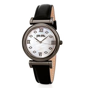 Mod Princess Big Case Leather Watch-