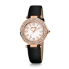 Beautime Round Case Leather Watch