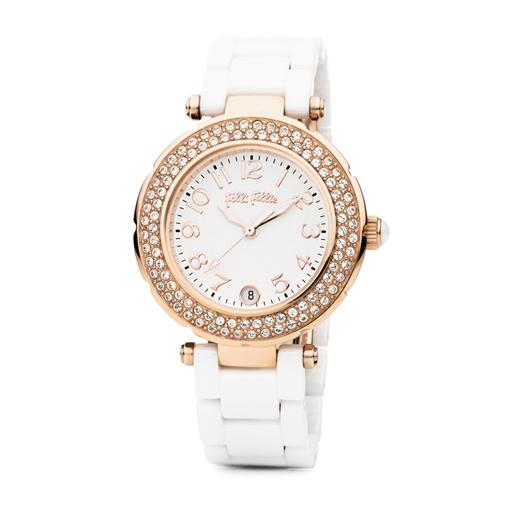 Beautime Round Case Ceramic Watch-