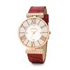 Dynasty Big Case Leather Watch