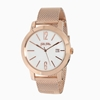Drive Me stainless steel rose gold plated watch with mesh bracelet