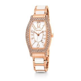 Debutant Oblong Case Bracelet Watch-